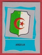 Algeria Badge 1986